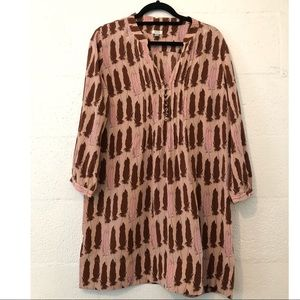 Fossil Feather Tunic